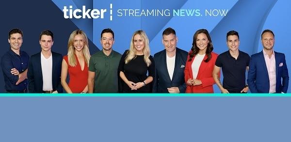 ticker news
